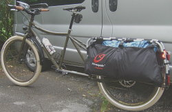 Setting off for Italy with Surly Big Dummy