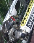 Trail-Tech Voyager Geschwindigkeitssensor an Yamaha WR250R