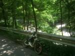 Bruckberg, 1500km Marke, Faltradprojekt