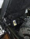 NC700X: Schutzmanschette fürs Federbein
