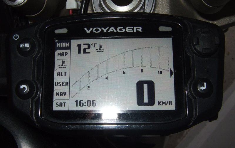 Trail Tech Voyager: neue Drehzahlanzeige mit FW 2.07.04