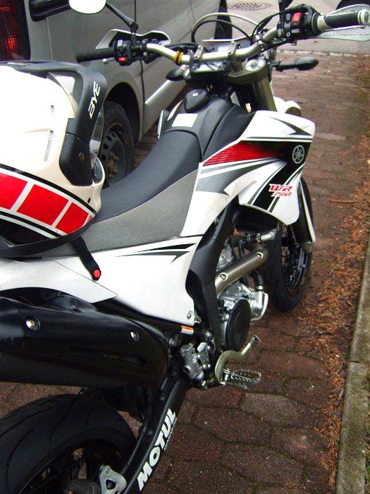 Yamaha WR250R Supermoto Umbau