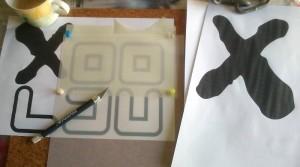 Airbrush Anfängersession - Schablonenanfertigung