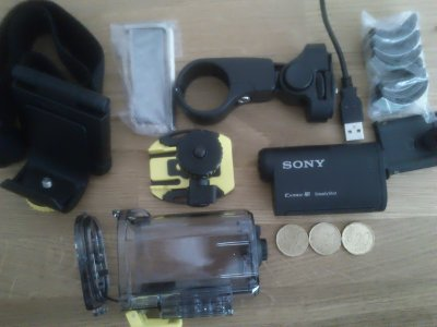 Sony Actioncam HDR-AS15 Motor&Bike Kit