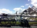 Streetstepper an Auffahrt Edelweißspitze