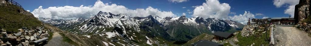 Glocknerstraße: Panorama von Edelweißspitze