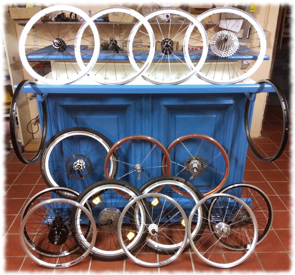 Fahrradlaufräder in Radgröße 406mm