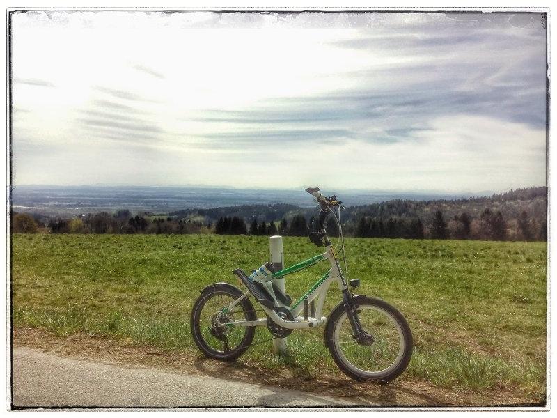 Der Dattenbacher Berg mit Streetstepper RS20