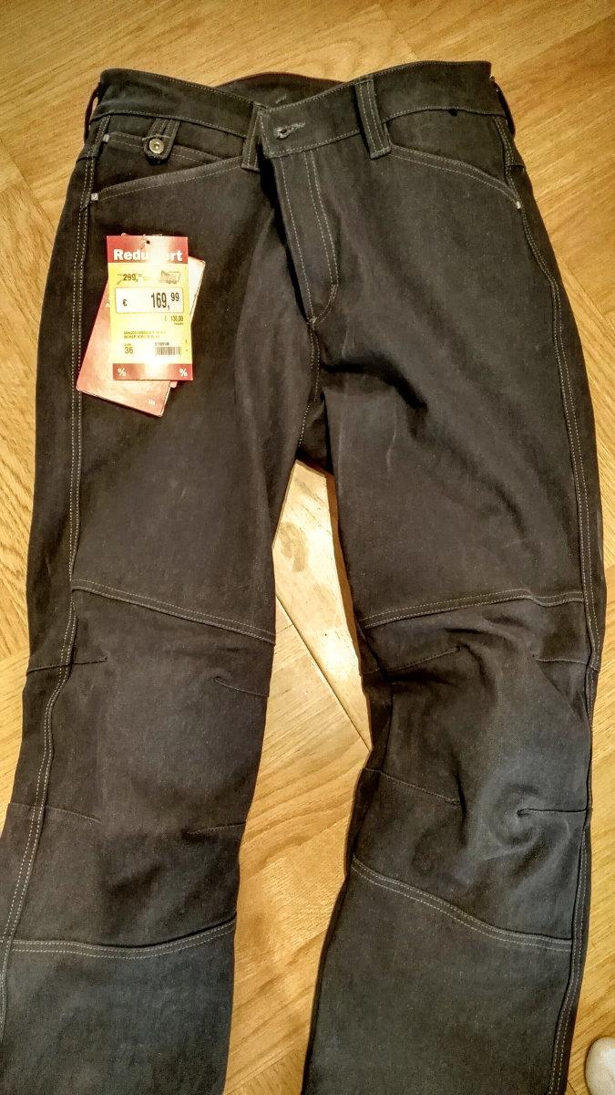 Vanucci Armalith Motorrad Jeans