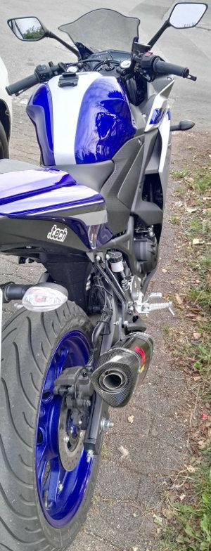Akrapovic Slipon für Yamaha YZF-R3