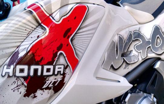 Honda NC700X Custom Lackierung