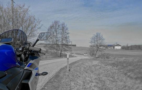 Tour mit Yamaha YZF R3